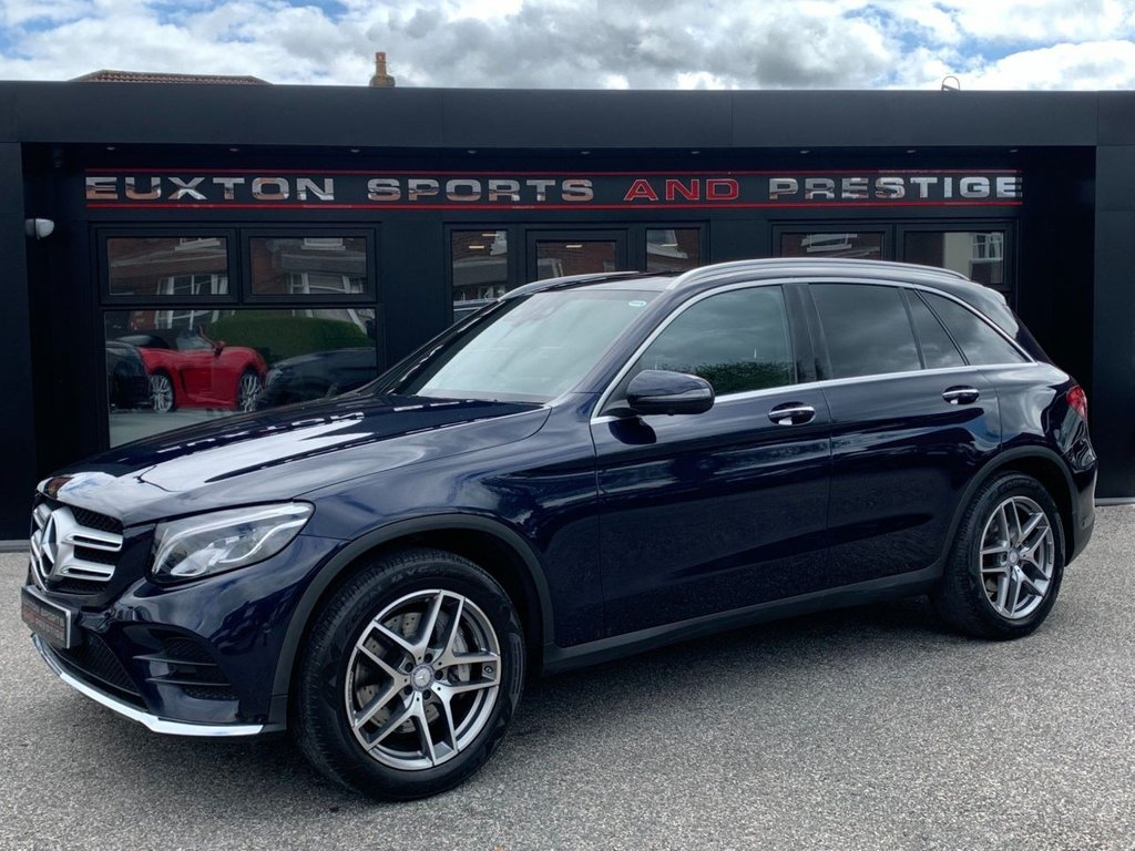USED 2016 66 MERCEDES-BENZ GLC-CLASS 2.1 GLC250d AMG Line (Premium Plus) G-Tronic 4MATIC (s/s) 5dr PAN ROOF/360 CAMERAS