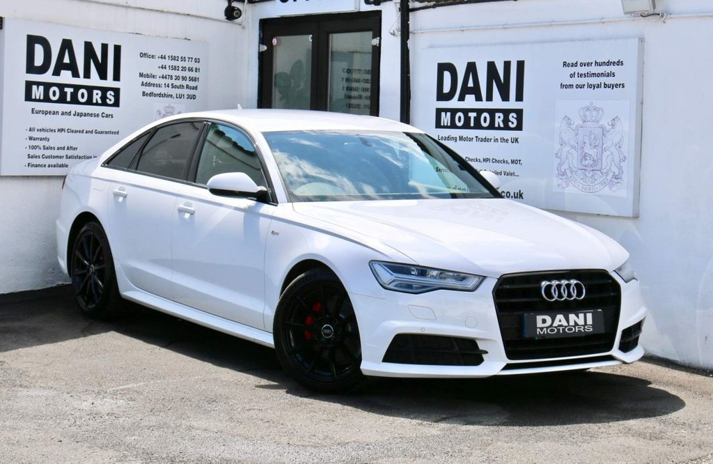 USED 2017 17 AUDI A6 2.0 TDI ultra Black Edition S Tronic (s/s) 4dr 1 OWNER*SATNAV*PARKING AID