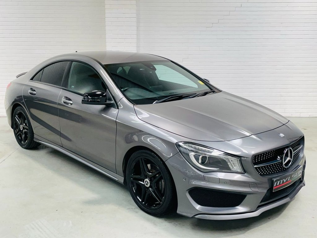 USED 2015 15 MERCEDES-BENZ CLA 2.1 CLA220 CDI AMG SPORT 4d 170 BHP AMG Pack|Night Pack|Bluetooth Media|AA Passed|FINANCE