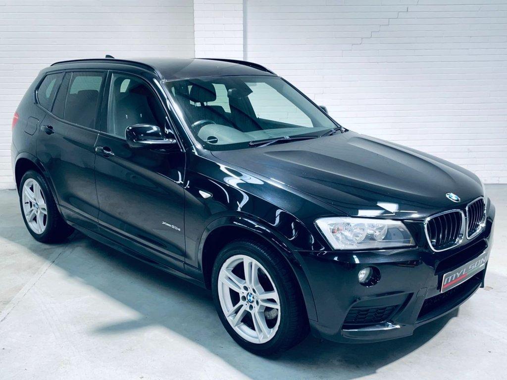 USED 2013 63 BMW X3 2.0 XDRIVE20D M SPORT 5d 181 BHP 19in Wheels Heated Leather Nav Tints AA Pass FINANCE