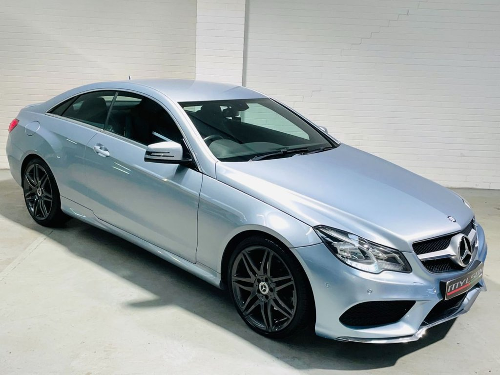 USED 2013 63 MERCEDES-BENZ E-CLASS 2.1 E220 CDI AMG SPORT 2d 170 BHP AMG Pack|COMAND Media|19in Wheels|AA Inspected|FINANCE
