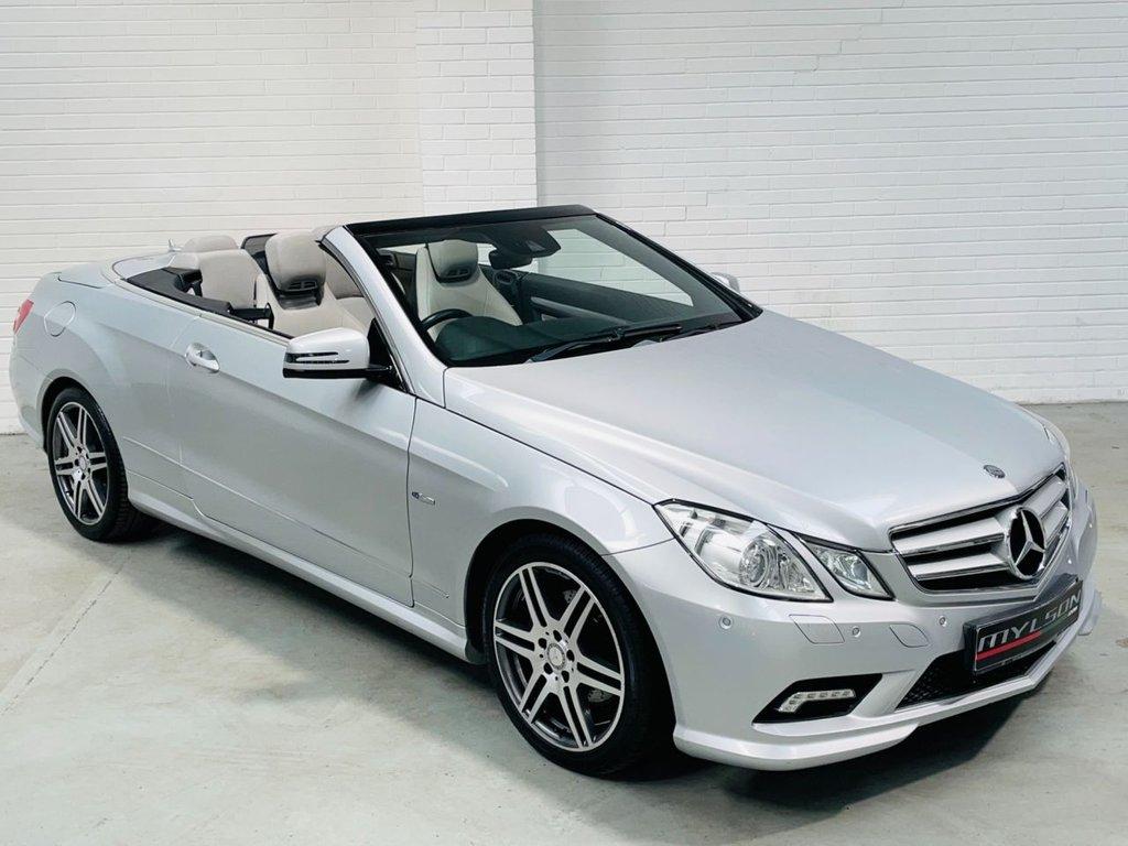 USED 2010 E MERCEDES-BENZ E-CLASS 3.0 E350 CDI BLUEEFFICIENCY SPORT 2d 231 BHP AMG Pack|High Spec|3.0 V6 Model|AA Inspected|PX+FINANCE