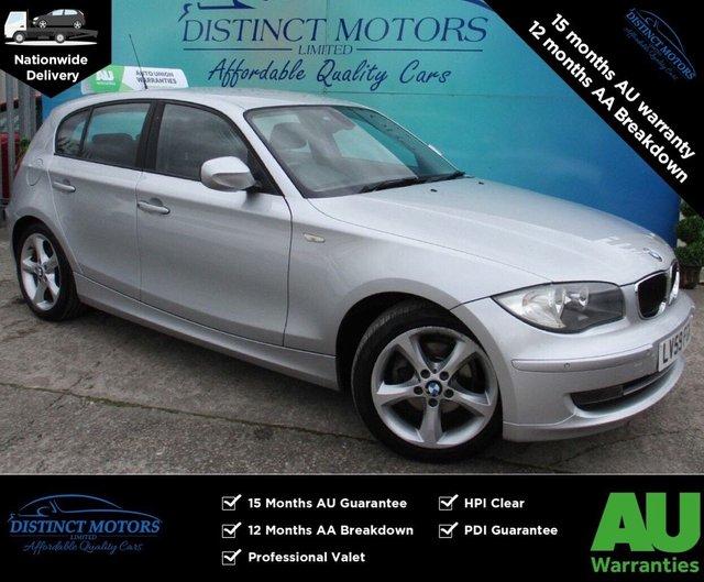 USED 2009 59 BMW 1 SERIES 2.0 118D SPORT 5d 141 BHP