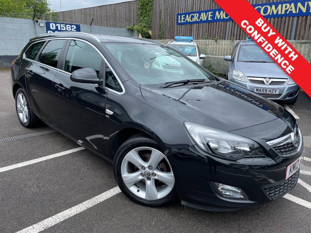 USED 2012 12 VAUXHALL ASTRA 1.6 SRI 5d 113 BHP FULL MAIN DEALER SERVICE HISTORY + 1 PREVIOUS OWNER