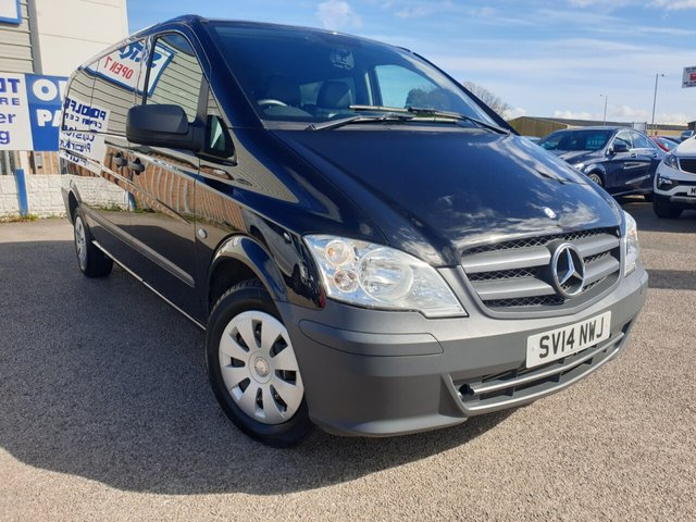 USED 2014 14 MERCEDES-BENZ VITO 2.1 113 CDI TRAVELINER 5d 136 BHP x LONG *** FINANCE & PART EXCHANGE WELCOME **** EXTRA LONG WHEEL BASE 9 SEATS FULL BLACK LEATHER BLUETOOTH PHONE