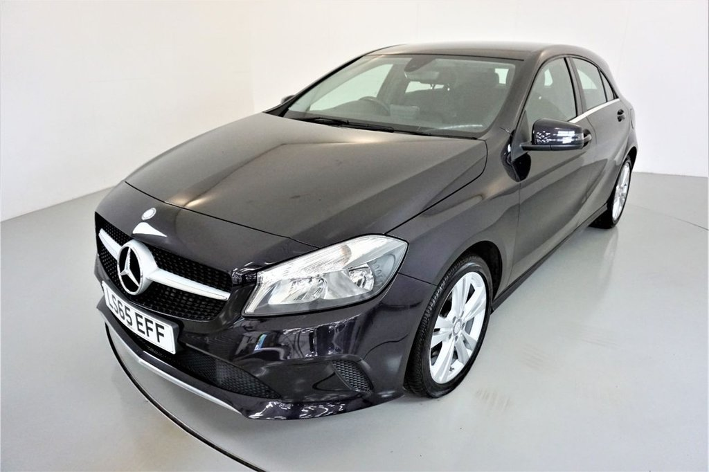 USED 2015 65 MERCEDES-BENZ A-CLASS 2.1 A 200 D SPORT 5d-2 OWNER CAR-BLACK LEATHER-17