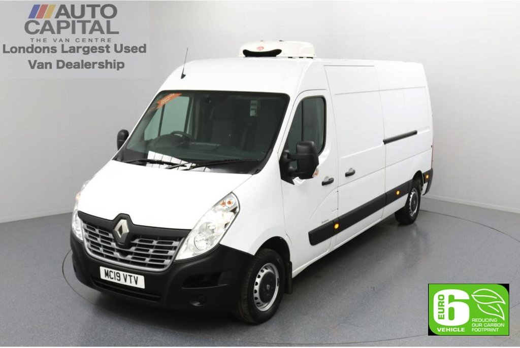 USED 2019 19 RENAULT MASTER 2.3 LM35 Business DCI LWB 130 BHP Low Emission Refrigerated Refrigerated Van   Eco Mode   Rear parking distance sensors   Cruise control with Speed Limiter