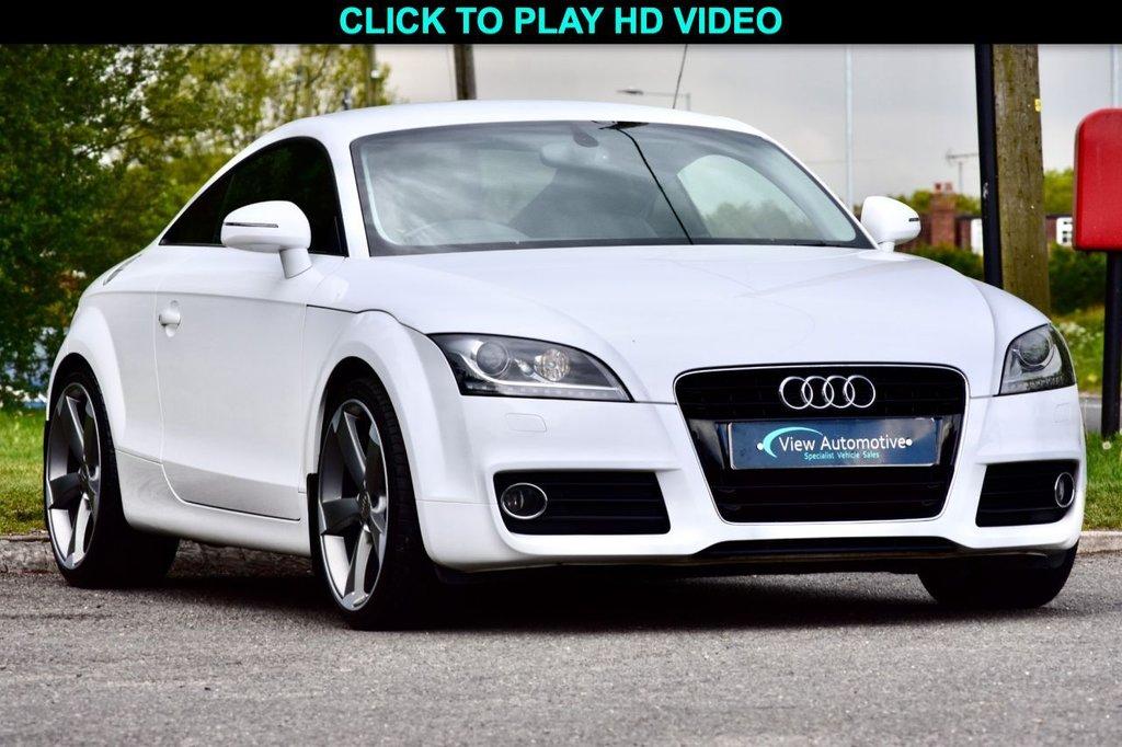 USED 2011 61 AUDI TT 2.0 TFSI SPORT 2d 211 BHP