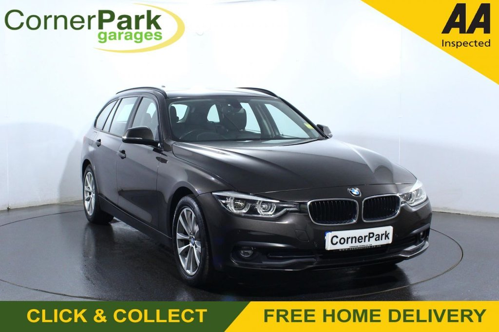 USED 2018 67 BMW 3 SERIES 2.0 318D SE TOURING 5d 148 BHP