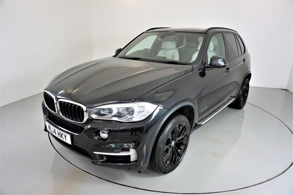 USED 2014 14 BMW X5 3.0 XDRIVE30D SE 5d 255 BHP-HEATED ALPINE WHITE DAKOTA LEATHER-20