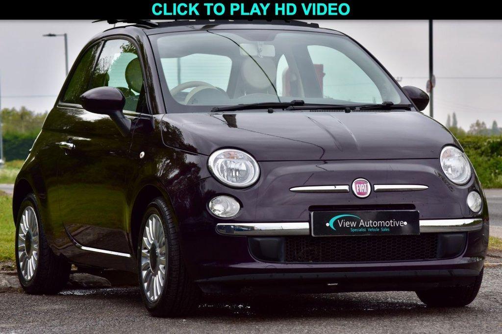 USED 2012 12 FIAT 500 0.9 LOUNGE 3d 85 BHP