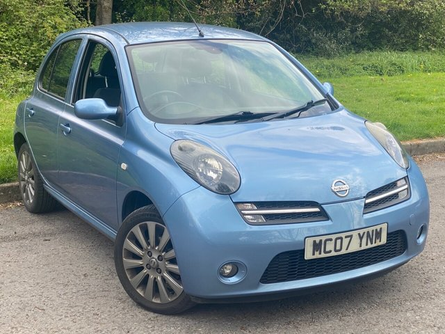 USED 2007 07 NISSAN MICRA 1.6 SR SPORT 5d 109 BHP JUST BEEN SERVICED, MOT MAY 2022