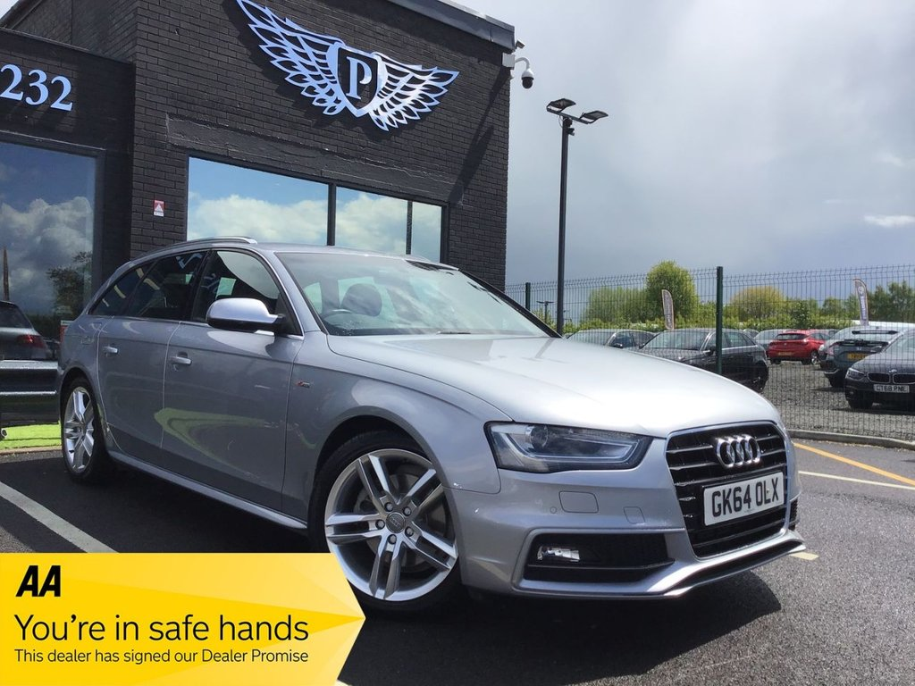USED 2014 64 AUDI A4 2.0 AVANT TDI S LINE START/STOP 5d 148 BHP Cam/Timing belt replaced !