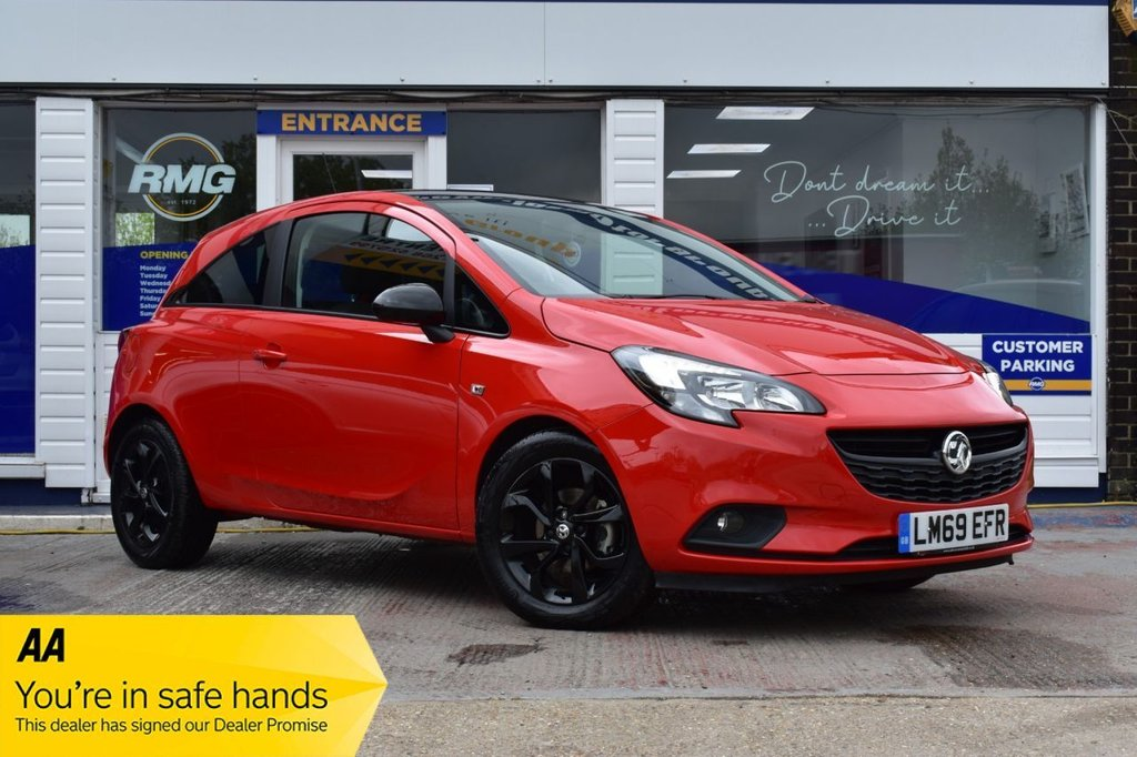 USED 2019 69 VAUXHALL CORSA 1.4 GRIFFIN 3d 74 BHP FINANCE FROM £185 PER MONTH