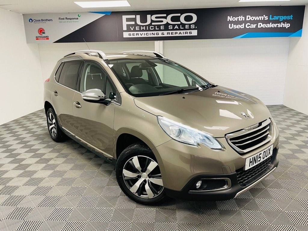 USED 2015 15 PEUGEOT 2008 1.6 E-HDI ALLURE 5d 92 BHP NATIONWIDE DELIVERY AVAILABLE!