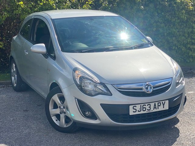 USED 2013 63 VAUXHALL CORSA 1.2 SXI 3d RECENTLY SERVICED, 12 MONTHS MOT, 12 MONTHS FREE AA MEMBERSHIP