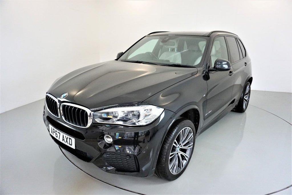 USED 2017 67 BMW X5 3.0 XDRIVE30D M SPORT 5d AUTO 255 BHP-1 OWNER CAR-HEATED IVORY WHITE DAKOTA LEATHER-20