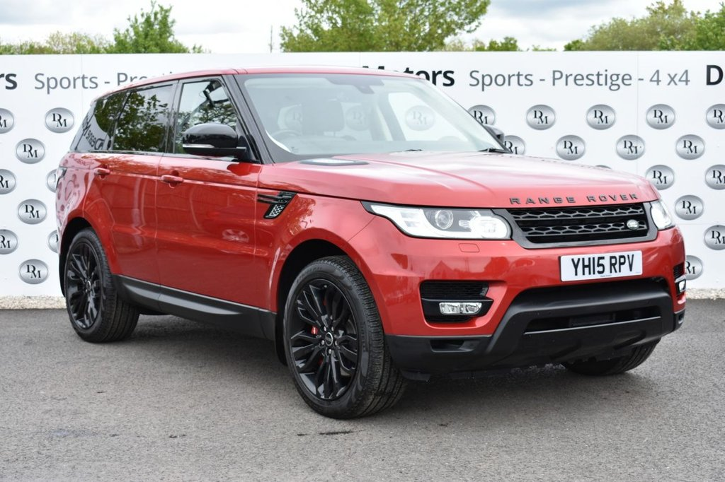 USED 2015 15 LAND ROVER RANGE ROVER SPORT 3.0 SDV6 HSE DYNAMIC 5d 288 BHP BLACK PACK 7 STS