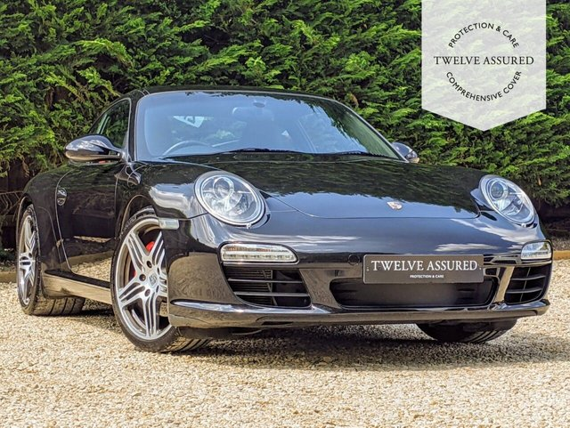USED 2008 58 PORSCHE 911 3.8 CARRERA 2S PDK 2d AUTO 385 BHP (2 OWNERS & SUNROOF)