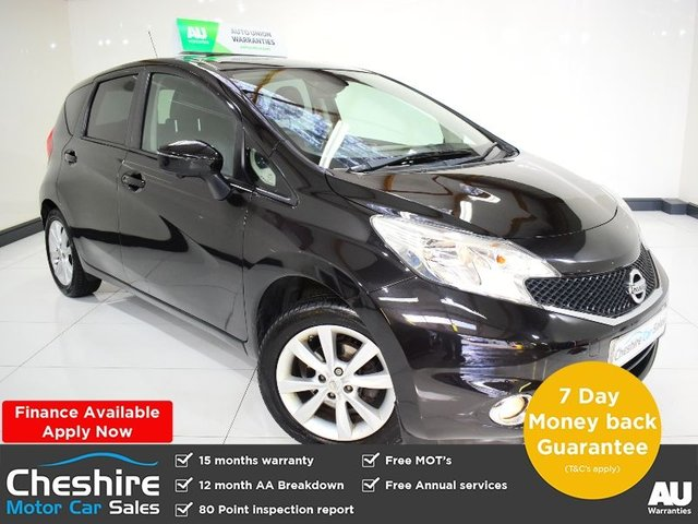 USED 2015 15 NISSAN NOTE 1.5 DCI TEKNA 5d 90 BHP