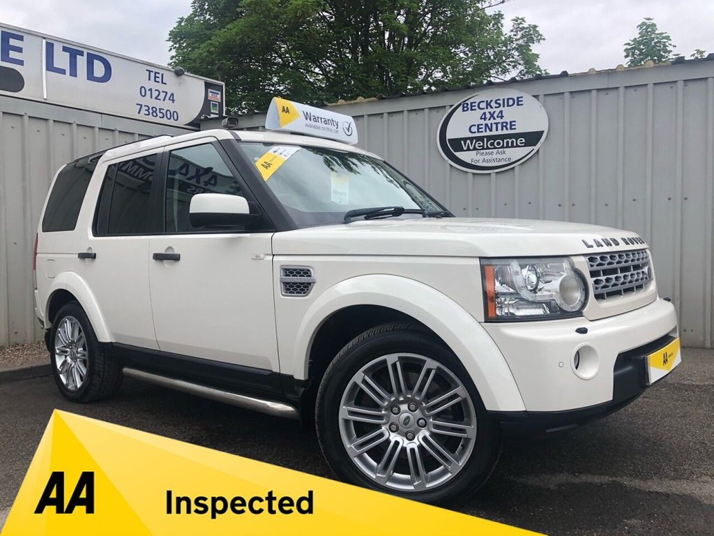 USED 2009 59 LAND ROVER DISCOVERY 4 3.0 4 TDV6 HSE 5d 245 BHP AA INSPECTED. FINANCE. WARRANTY. 7 SEATER. LOW MILEAGE. MANY EXTRAS