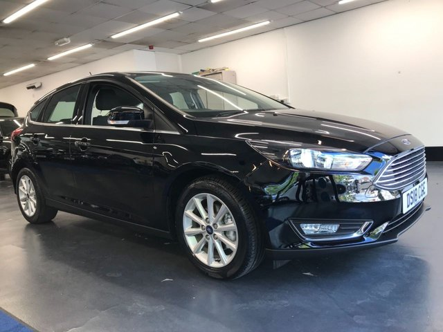 USED 2018 18 FORD FOCUS 1.0 TITANIUM 5d 124 BHP 1 owner from new with great spec including rear parking sensors, touchscreen satnav and bluetooth phone and audio