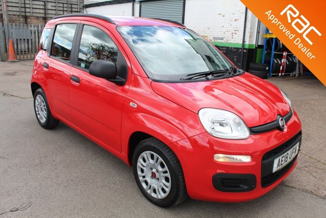 USED 2018 18 FIAT PANDA 1.2 EASY 5d 69 BHP VIEW AND RESERVE ONLINE OR CALL 01527-853940 FOR MORE INFO.