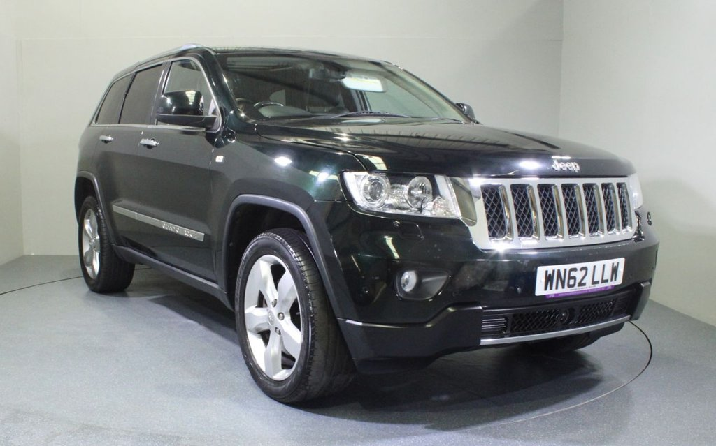 USED 2012 62 JEEP GRAND CHEROKEE 3.0 V6 CRD OVERLAND 5d 237 BHP