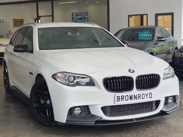 USED 2015 65 BMW 5 SERIES 2.0 520D M SPORT TOURING 5d 188 BHP BM PERFORMANCE STYLING+6.9%APR
