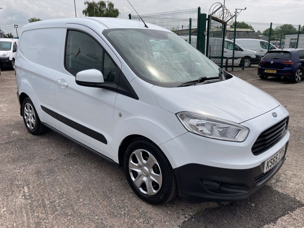 USED 2016 65 FORD TRANSIT COURIER 1.6 TREND TDCI 94 BHP 1 OWNER FSH NEW MOT AIR CON FREE WARRANTY INCLUDING RECOVERY AND ASSIST NEW MOT AIR CONDITIONING