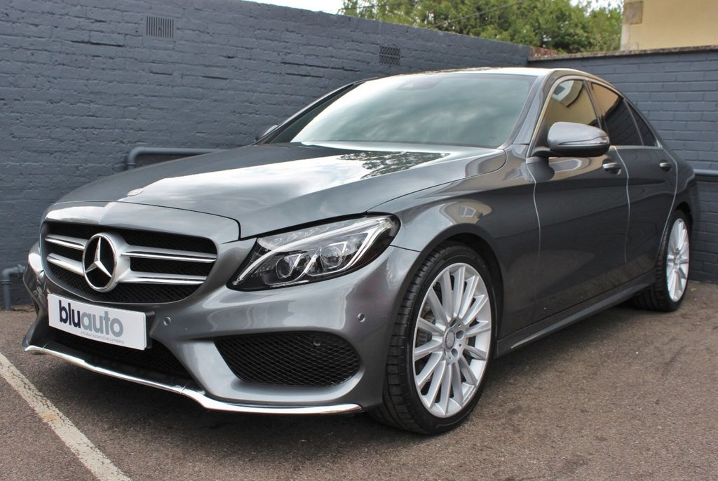 USED 2016 66 MERCEDES-BENZ C-CLASS 2.1 C220 D AMG LINE PREMIUM 4d 170 BHP 2 Owners, Full Mercedes History, Low Running Costs, Huge Specification