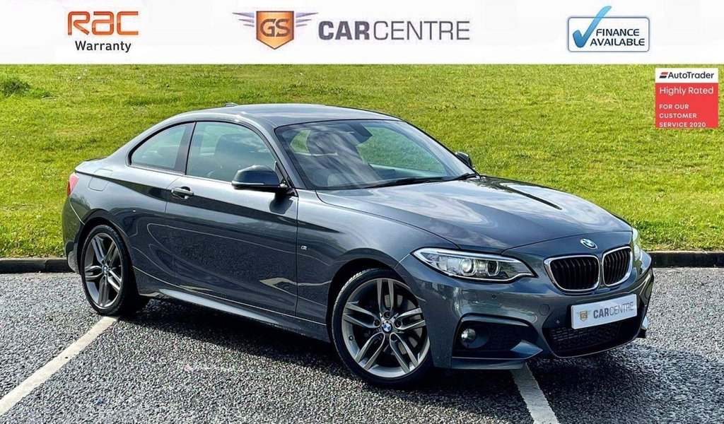 USED 2016 66 BMW 2 SERIES 2.0 220d M Sport Auto (s/s) 2dr *7.9% APR Finance Available*