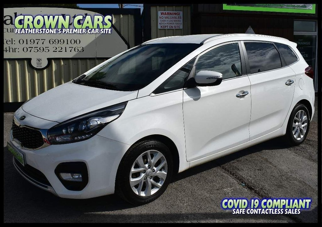 USED 2017 17 KIA CARENS 1.7 CRDi 2 (s/s) 5dr ONE PRIVATE OWNER WITH FSH