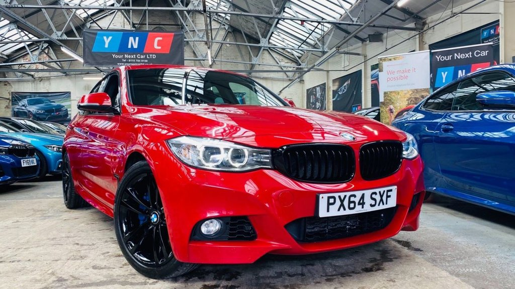 USED 2014 64 BMW 3 SERIES 2.0 320d M Sport GT Auto (s/s) 5dr YNCSTYLING+MPLUSPACK+HTDLTHR