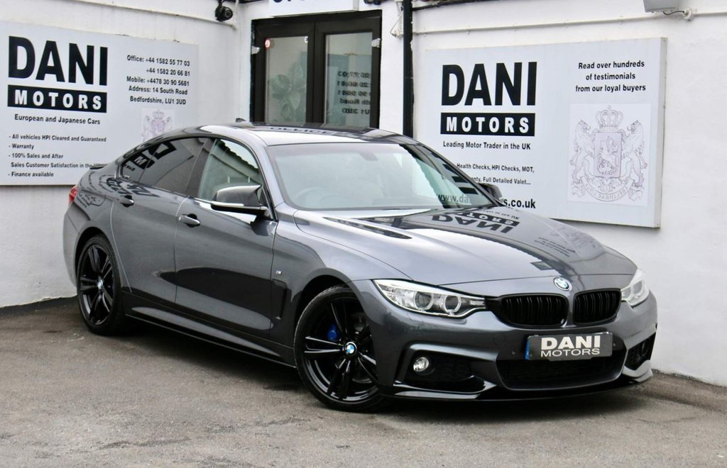 USED 2017 17 BMW 4 SERIES 2.0 420d M Sport Gran Coupe Auto (s/s) 5dr 1 OWNER*PERFORMANCE KIT**