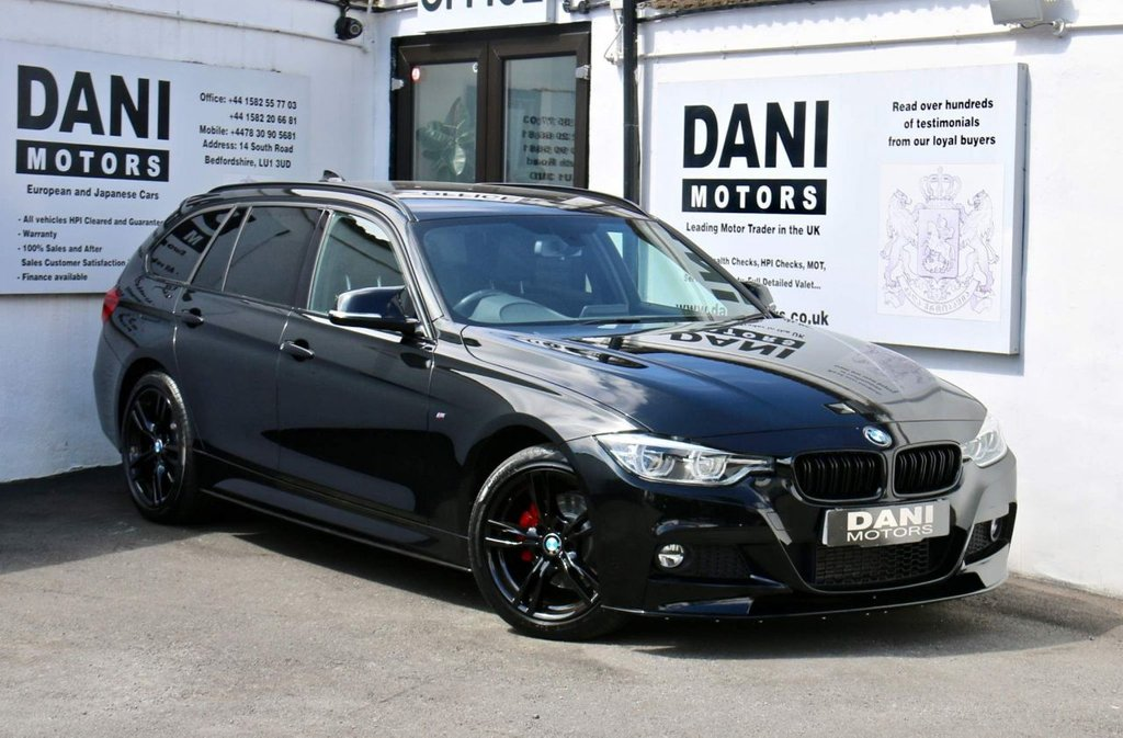 USED 2017 17 BMW 3 SERIES 2.0 320d M Sport Shadow Edition Touring Auto xDrive (s/s) 5dr 1 OWNER*PERFORMANCE KIT*