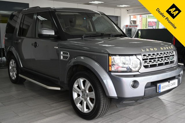 USED 2013 62 LAND ROVER DISCOVERY 3.0 4 SDV6 HSE 5d 255 BHP