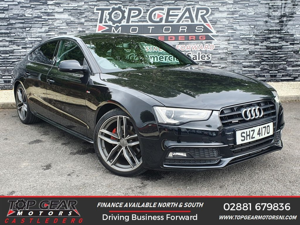 USED 2013 AUDI A5 2.0 SPORTBACK TDI QUATTRO S LINE 5d 175 BHP ** 4 WHEEL DRIVE, BLACK ED STYLING, UPGRADED ALLOYS AVAILABLE **