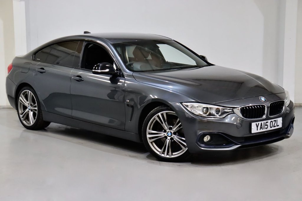 USED 2015 15 BMW 4 SERIES 2.0 420D SPORT GRAN COUPE 4d 188 BHP