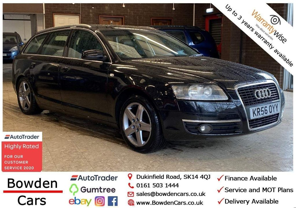 USED 2006 56 AUDI A6 2.0 TDI SE CVT 5dr **FREE NATIONWIDE DELIVERY**