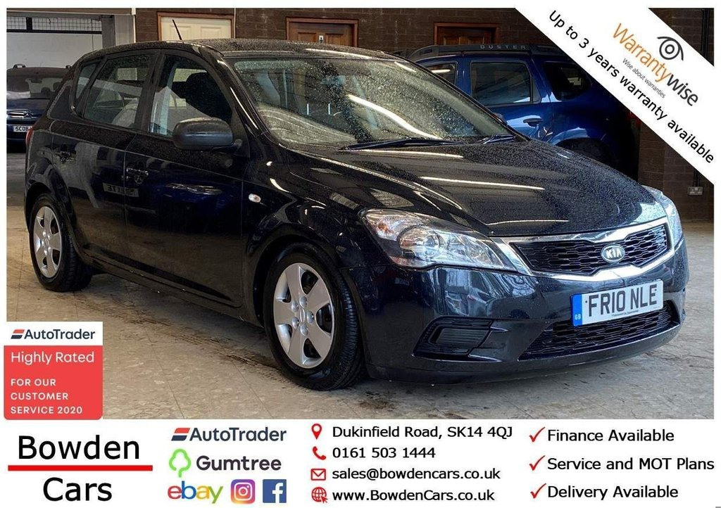 USED 2010 10 KIA CEED 1.4 1 5dr **FREE NATIONWIDE DELIVERY**