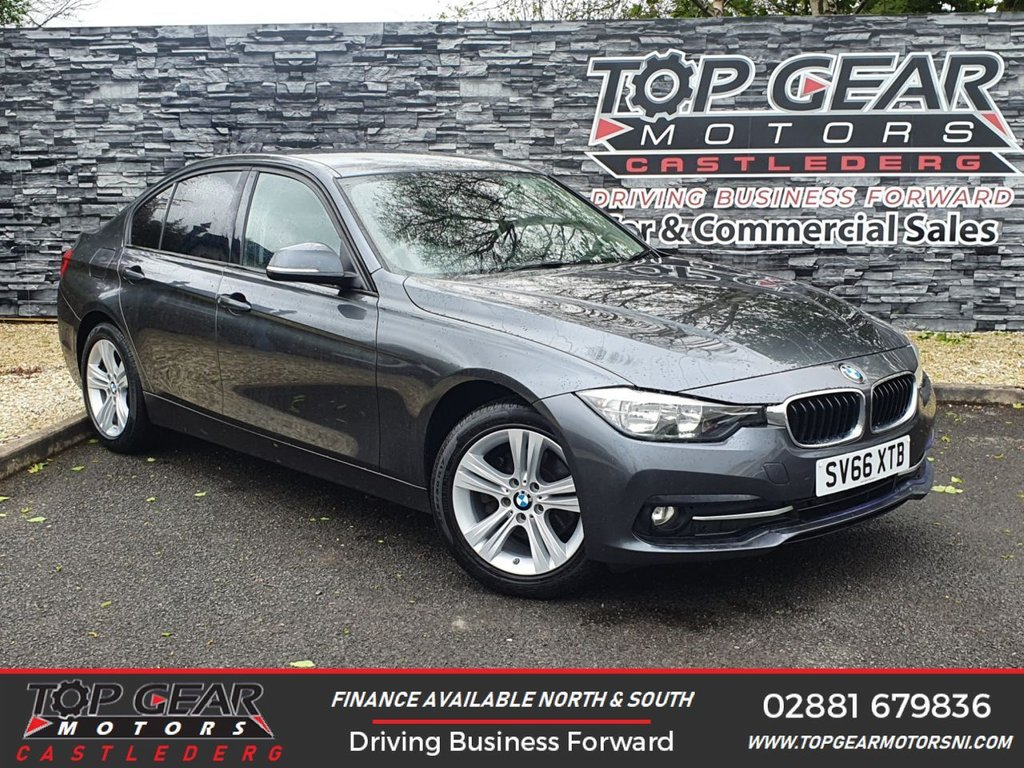 USED 2016 66 BMW 3 SERIES 320D 2.0 190BHP XDRIVE SPORT  ** 4 WHEEL-DRIVE, METALLIC GREY, FINANCE AVAILABLE ** OVER 90 VEHICLES IN STOCK
