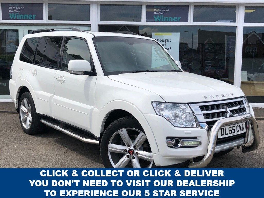 USED 2015 65 MITSUBISHI SHOGUN 3.2 DI-D SG4 5d 187 BHP Now Ready to Finance and Drive Away Today  Fantastic Service History