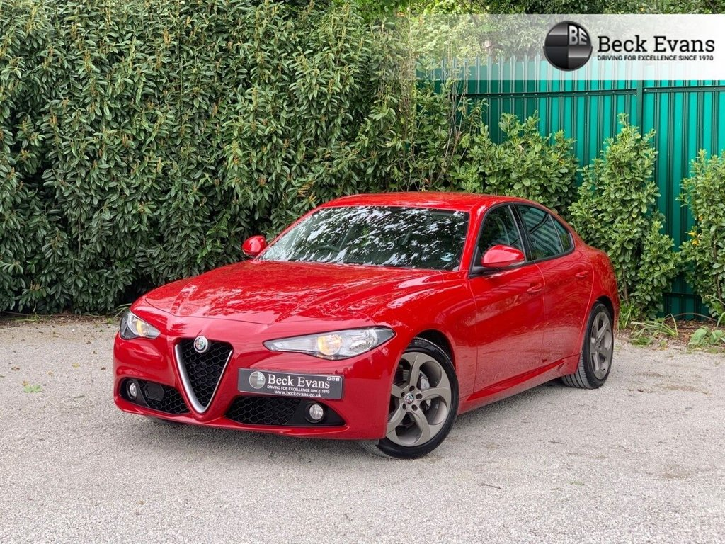 USED 2019 19 ALFA ROMEO GIULIA 2.1 TD SUPER 4d 178 BHP