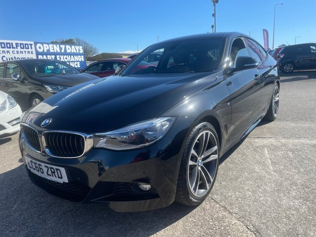 USED 2016 66 BMW 3 SERIES 3.0 330D M SPORT GRAN TURISMO 5d 255 BHP FINANCE ARRANGED**PART EXCHANGE WELCOME**SAT NAV*FULL LEATHER*BLUETOOTH*HARMON SPEAKERS*HEATED SEATS*CRUISE