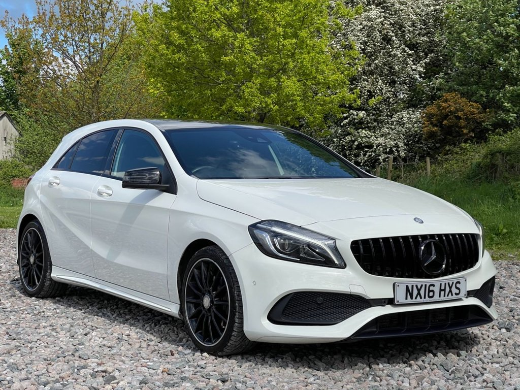 USED 2016 16 MERCEDES-BENZ A-CLASS 2.1 A 200 D AMG LINE PREMIUM 5d 134 BHP Free Next Day Nationwide Delivery