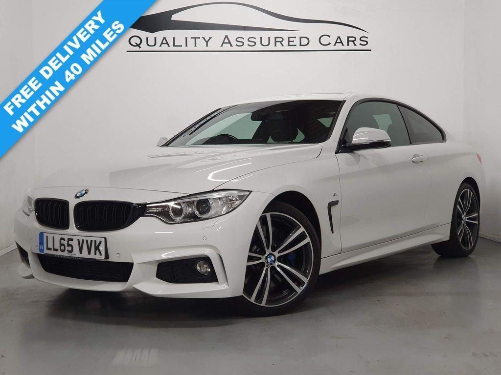 USED 2015 65 BMW 4 SERIES 3.0 430D M SPORT 2d 255 BHP M SPORT! SAT NAV! SUNROOF!