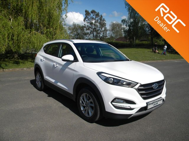 USED 2016 66 HYUNDAI TUCSON 1.7 CRDI SE NAV BLUE DRIVE 5d 114 BHP BY APPOINTMENT ONLY - Great Size Family Car, Alloy Wheels, Sat Nav, Bluetooth, Reversing Camera, DAB