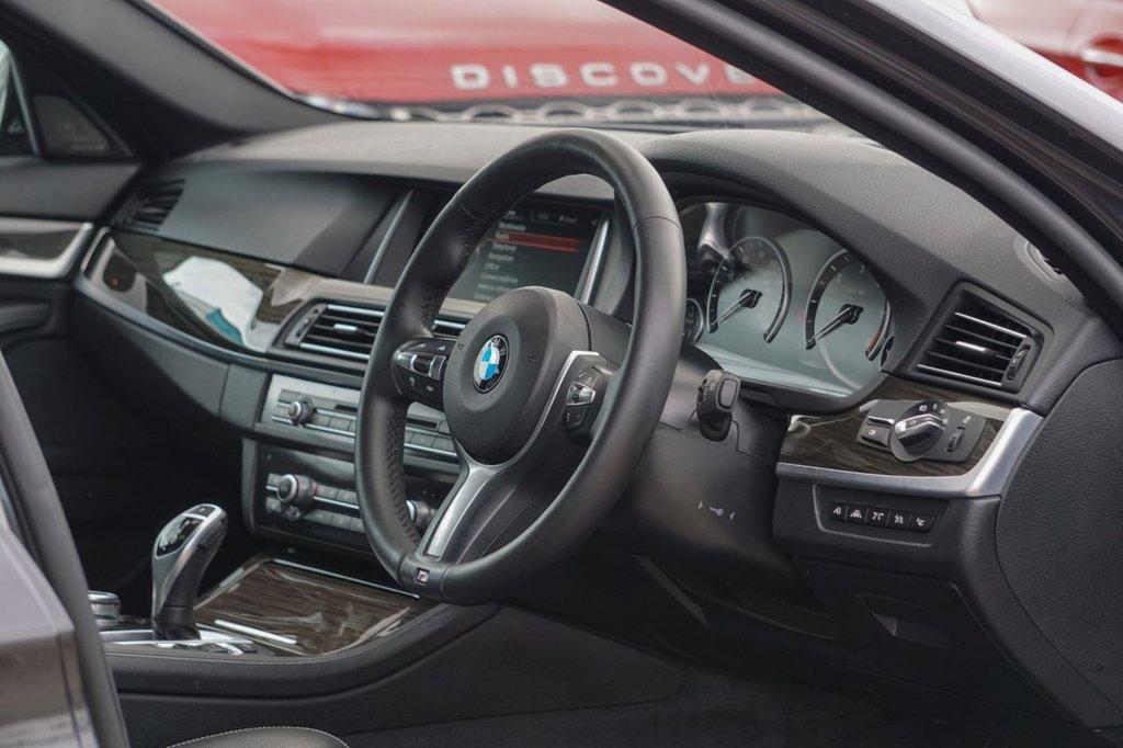 USED 2014 64 BMW 5 SERIES 3.0 535D M SPORT 4d 309 BHP
