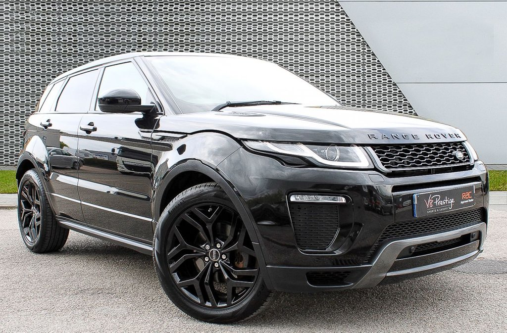 USED 2016 M LAND ROVER RANGE ROVER EVOQUE 2.0 TD4 HSE DYNAMIC 5d 177 BHP **BLACK PACK/PAN ROOF**